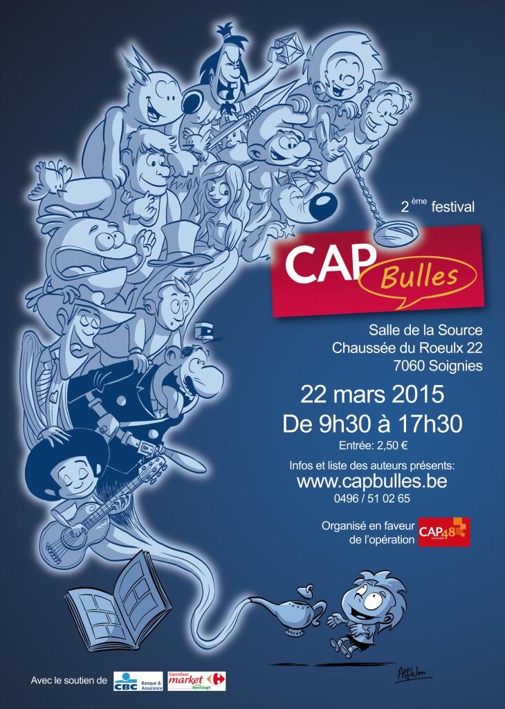 Affiche CAP Bulles 2015