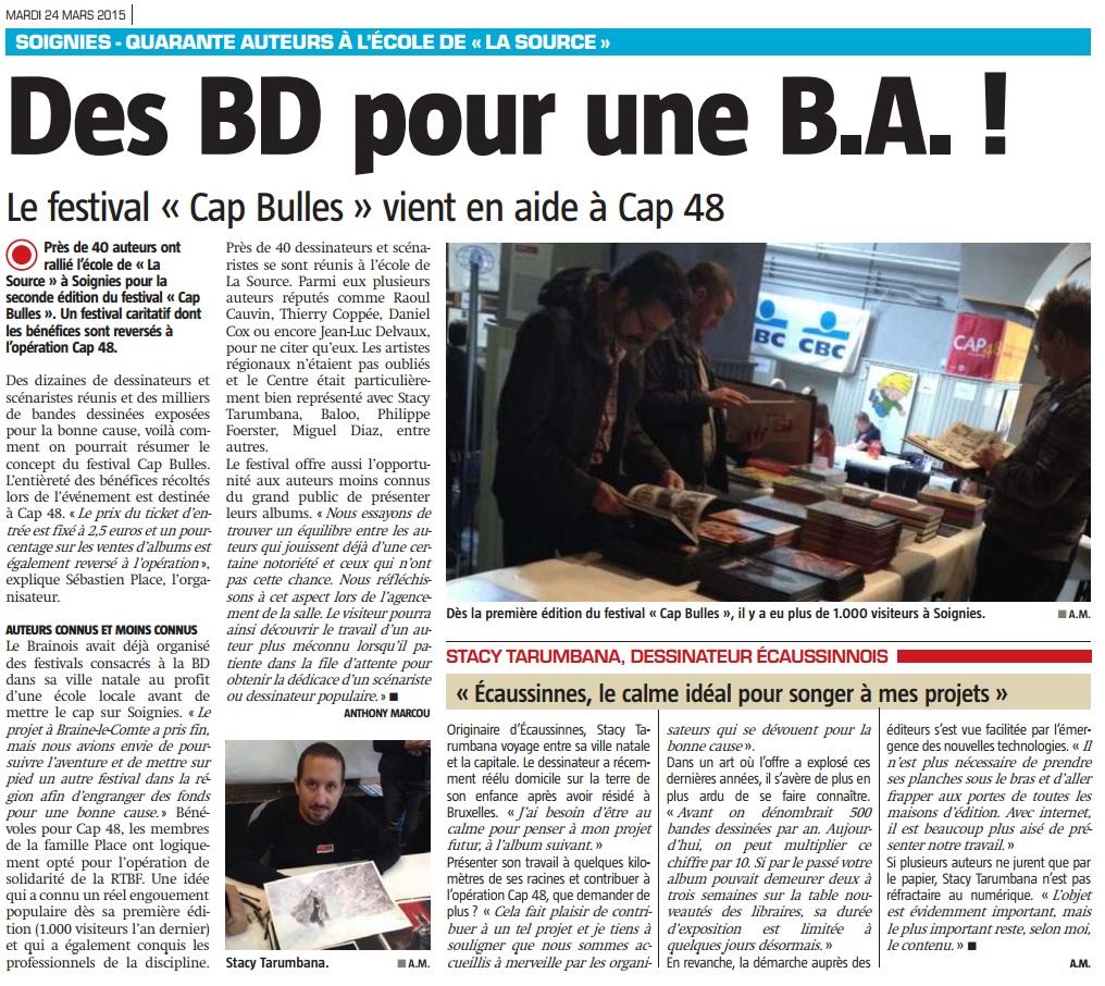 Article 2 Nouvelle Gazette CAP Bulles 2015
