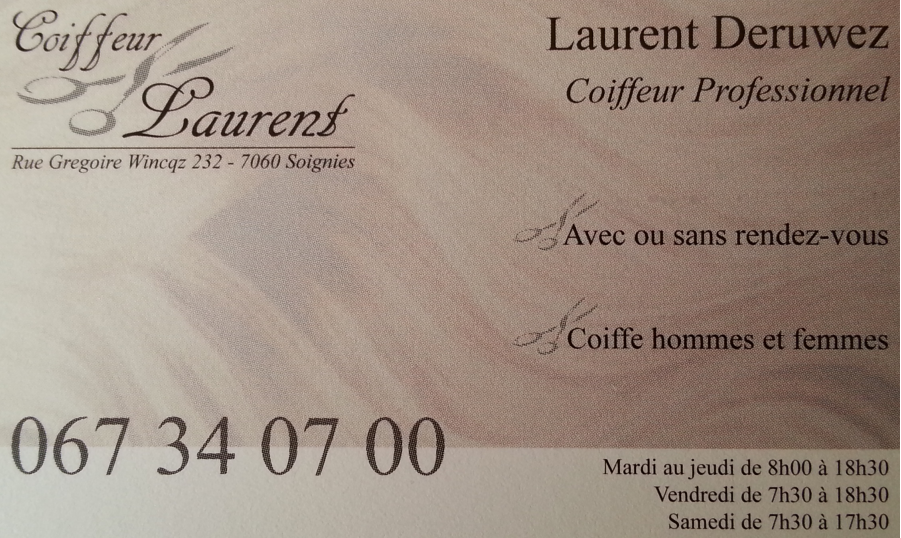 Coiffeur Laurent