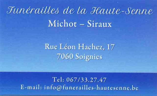 Funérailles de la Haute Senne